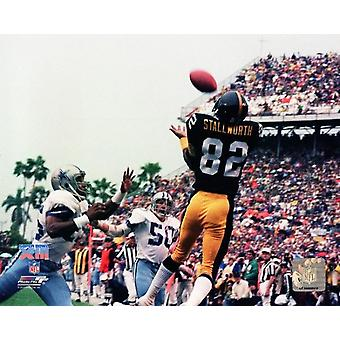 John Stallworth Super Bowl XIII Action Photo Print