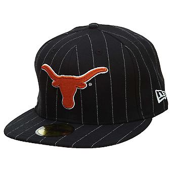 New Era Texas Longhorns Fitted Hat Mens Style : Hat002