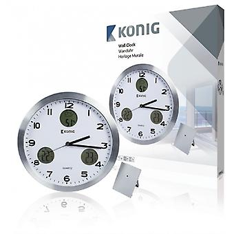 König wall clock with outdoor unit