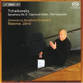 Gothenburg Symphony Orchestra - Tchaikovsky: Symphony No. 5; Capriccio Italien; the Voyevoda [SACD] USA import