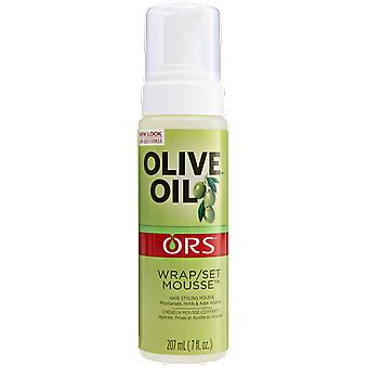 ORS Olive Oil Ors Olive Oil Mousse Wrap in September 7oz (Capillair , Styling producten)