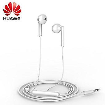 Genuine Huawei AM115 3.5mm Handsfree Earphones with Remote and Microphone for Huawei nova - White (Bulk, Frustration Free Packaging)