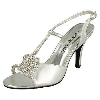 Ladies Anne Michelle Strappy Heeled Sandals L3415