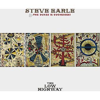 Steve Earle & the Dukes (& Duchesses) - Low Highway-Deluxe (CD/DVD) [CD] USA import