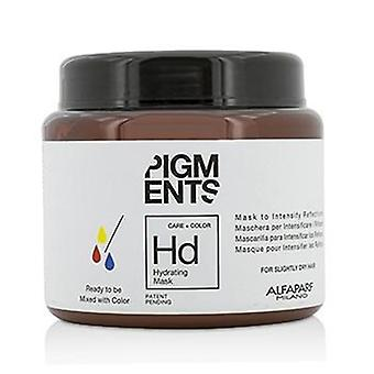 Alfaparf Pigments Hydrating Mask (For Slightly Dry Hair) - 200ml/6.76oz