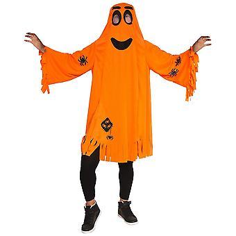 Græskar kostume orange børn græskar ghost Halloween KInderkostüm 0-6 år