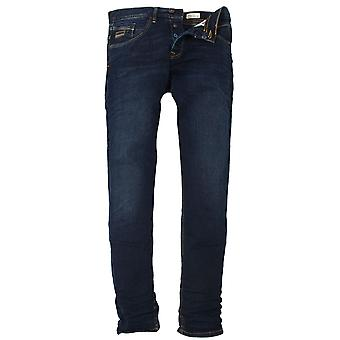 VOI JEANS Harvey Stretch Dark Wash Tapered Denims