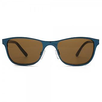 Monkey Monkey Childrens Metal Flat Sheet Sunglasses In Teal