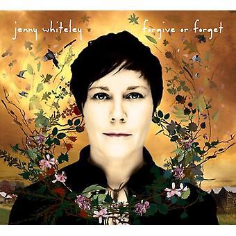 Jenny Whiteley - tilgive eller glemme [CD] USA importerer