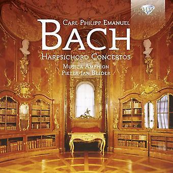 Musicaamphion/Pieter Jan Belder - C.P.E. Bach: Klavecimbelconcerten [CD] USA import