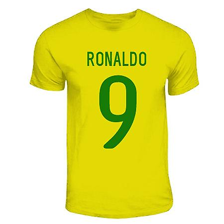 Ronaldo Brazil Hero T-shirt (yellow)