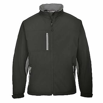 Portwest - Texo Classic Workwear pustende alle vær Softshell jakke (3L)