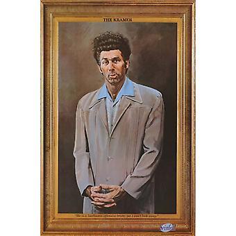 Kramer Seinfeld The Kramer Poster Poster Print