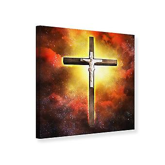 Canvas Print Holy Cross