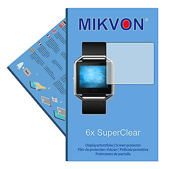 Fitbit Blaze screen protector- Mikvon films SuperClear