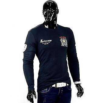 Men's United States Army long sleeve long sleeve shirt Figurbetont clubwear slim fit sweater