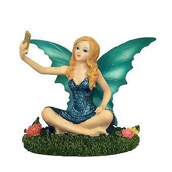 Aurora Knight Selfie Time Fairy Figurine