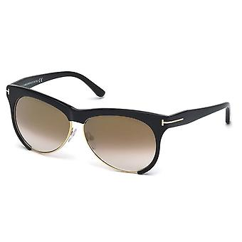 Tom Ford FT0365 Leona 01G Aviator Sunglasses