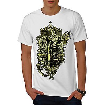 Verdammte Seele tot Vintage Herren WhiteT-Shirt   Wellcoda
