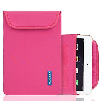 Caseflex iPad Air neopren påse (M) - Hot Pink