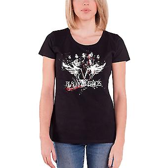 Black Veil Brides Filth Band Logo Official Womens New Black Skinny Fit T Shirt