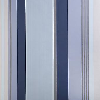 Dulux Easy Hang Feature Wallpaper - Oslo - China Blue - 31-234