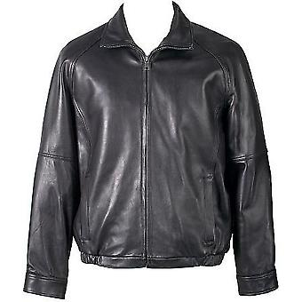 Dali Mens Leather Jacket With Filler Lining