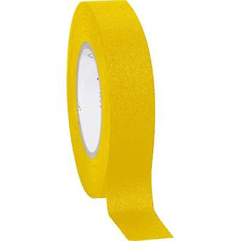 Cloth tape Coroplast 800 Yellow (L x W) 10 m x 15 mm
