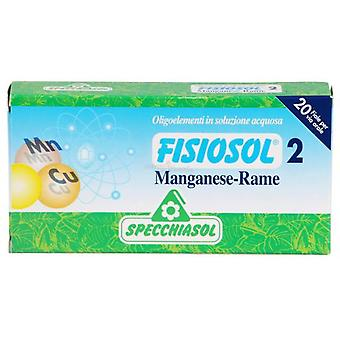 Specchiasol Fisiosol 02 Manganese-Copper 20A. (Vitamins & supplements , Minerals)