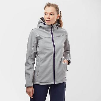 Peter Storm Women's Marl Hooded Softshell Jacket