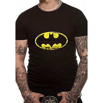BATMAN - DISTRESSED LOGO (UNISEX)  T-Shirt