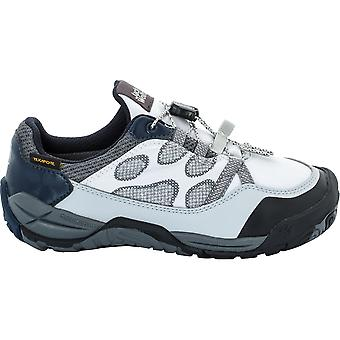 Jack Wolfskin Boys & Girls Jungle Gym Texapore Low Waterproof Trainers