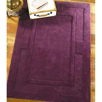 Apollo Purple  Rectangle Rugs Plain/Nearly Plain Rugs
