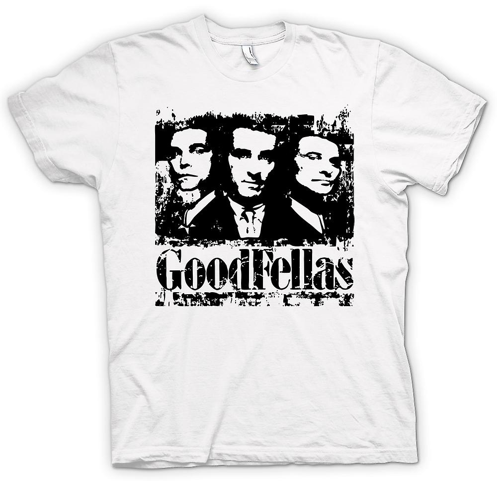 Womens T-shirt - Goodfellas - Distressed Mafia