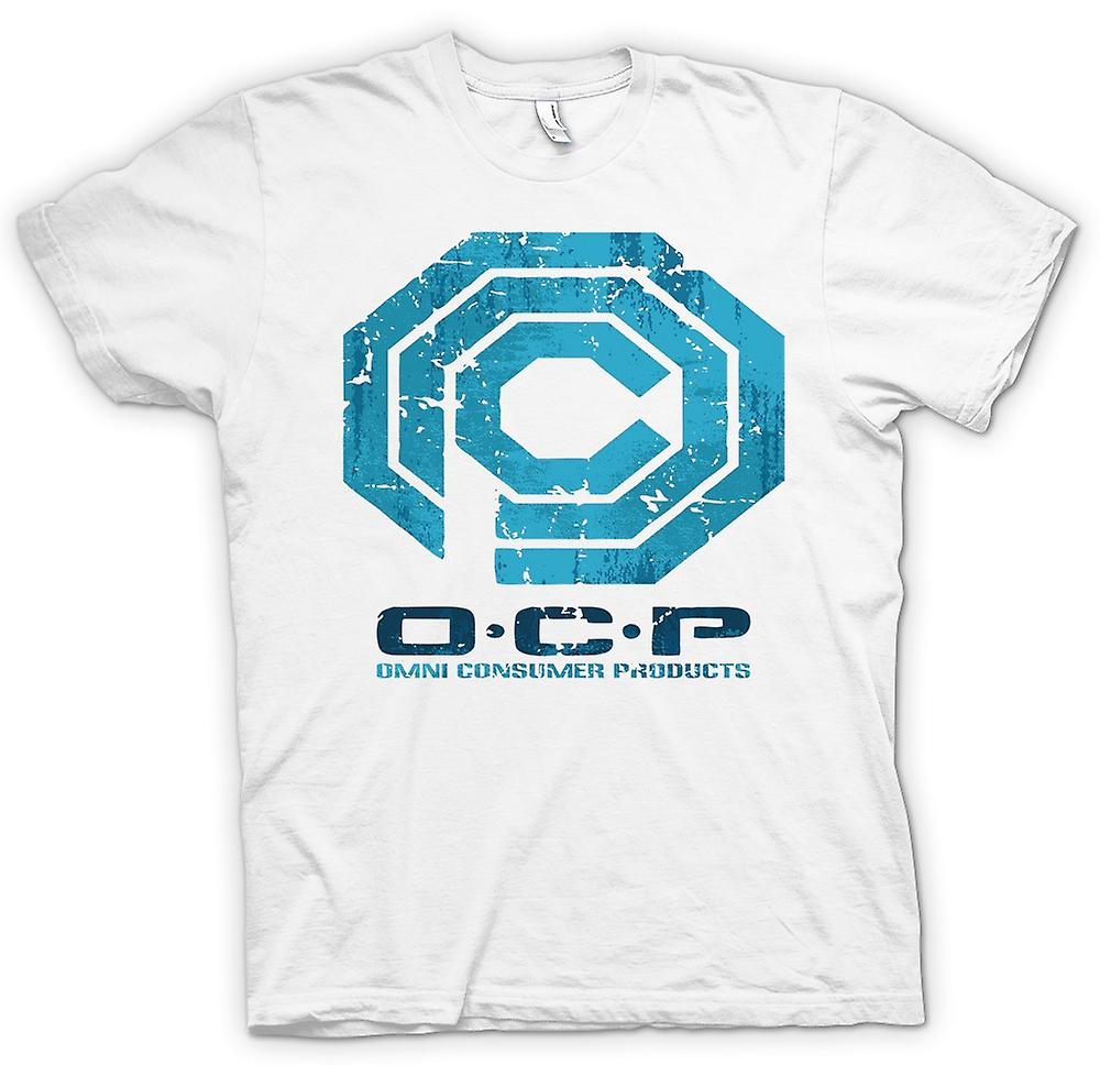 Mens T-shirt - OCP Omni Consumer Products - Robocop