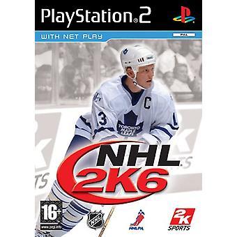 NHL 2K6 (PS2)