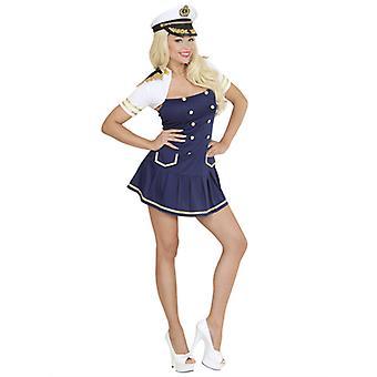 Marina de guerra capitán chica (vestido Bolero)