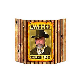 Wanted Poster Foto Prop