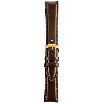 Morellato Strap Only - Twingo Napa Leather Dark Brown 16mm A01D1877875032CR16 Watch