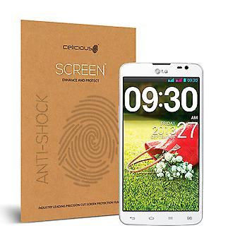 Celicious Impact Anti-Shock Shatterproof Screen Protector Film Compatible with LG G Pro Lite Dual