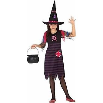 Dziecięce stroje karnawalowe sukienka dziewczyny Witch Halloween dla dziewczyn
