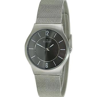 Skagen Herren Uhr Armbanduhr Slimline Titan 233LTTM