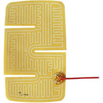 Thermo Polyester HGV wing mirror heater pad self-adhesive 24 Vdc, 24 V AC 20 W IP rating IPX4 (L x W) 235 mm x 144.5 mm