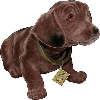 Dachshund bobble head (L x W) 30 cm x 10 cm Brown
