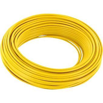 Strand 2 x 0.14 mm² Yellow BELI-BECO L218/5 ge