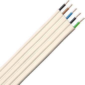 Kopp 157110043 Multi-wire planar cable NYIFY-J 5 x 1.50 mm² Grey 10 m