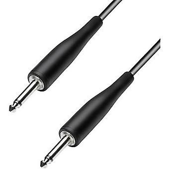 Paccs HIC23BK090SD Instruments Cable [1x Jack plug 6.35 mm - 1x Jack plug 6.35 mm] 9 m Black