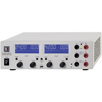 EA Elektro-Automatik PS 2384-05 b Triple banc PSU (tension réglable) 0 - VCC 84 0 - 5 A 332 W USB distant no contrôlé des sorties 3 x