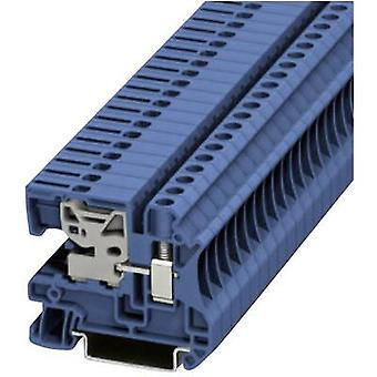 Phoenix Contact UTN 6 3245037 N terminal Number of pins: 1 0.2 mm² 10 mm² Blue 1 pc(s)