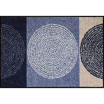 Salon lion doormat Nestor denim washable dirt mat district robust
